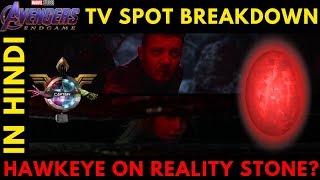 Avengers Endgame Tv Spot Breakdown in HINDI