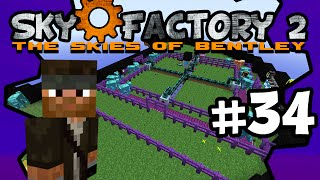 Milking Moo Fluid Cows | Sky Factory 2 | Ep.34