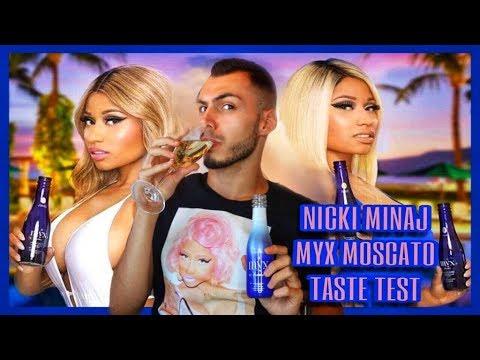 ΔΟΚΙΜΑΖΩ ΤΟ ΠΟΤΟ ΤΗΣ NICKI MINAJ ( MYX MOSCATO TASTE TEST ) | Tsede The Real