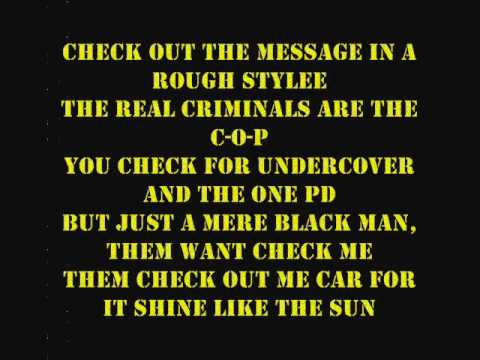KRS-One Sound of da Police (1993) With Lyrics