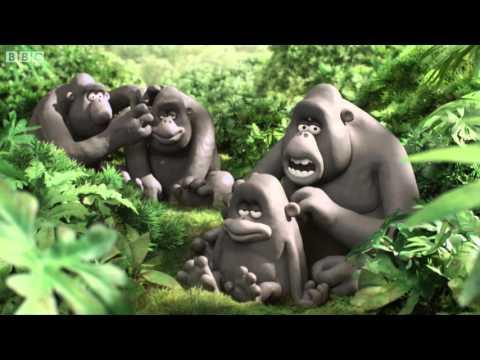 The day the gorillas met David Attenborough - Attenborough at 90 - BBC