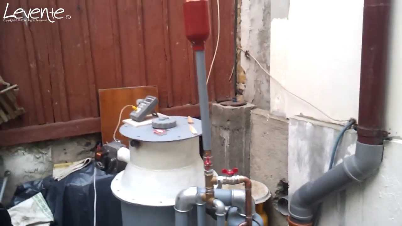 how to make a wood gas generator