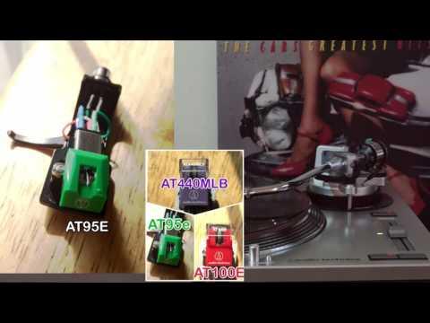 AT440MLb vs AT100E vs AT95e stylus AUDIO TECHNICA comparison