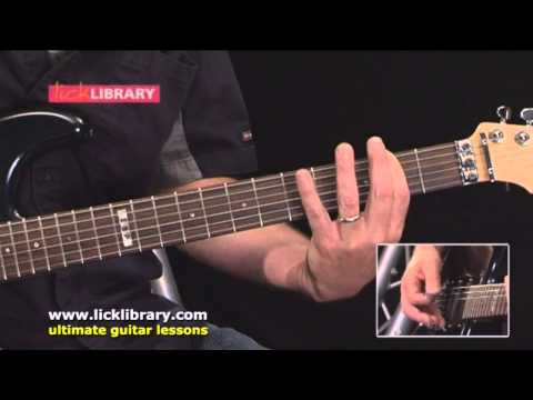 Beautiful Dangerous by Slash Guitar Lesson | Sample Intro Licklibrary Online Lesson