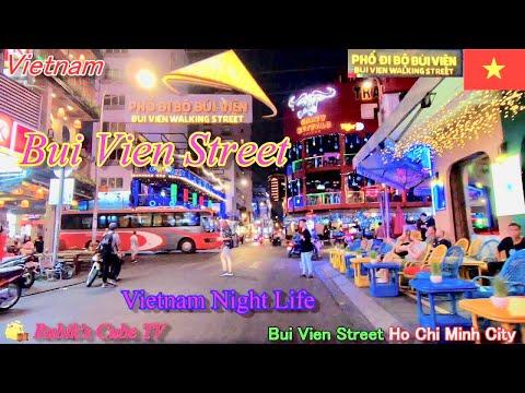 ブイビエン通り ホーチミン ベトナム【Vietnam Tuorism Bui Vien Street】