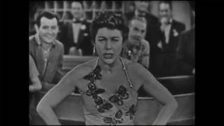 """Lillian Roth--""""Opening Number"""" Medley, 1954 TV"""