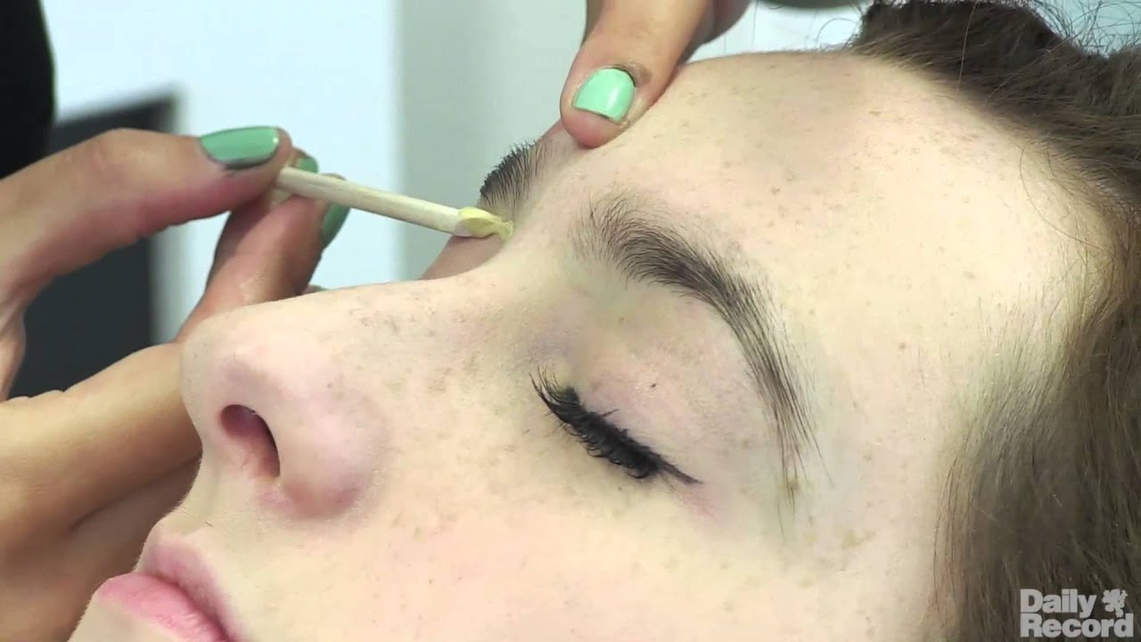 7 Steps Hd Brows Treatment At Rainbow Room International Youtube