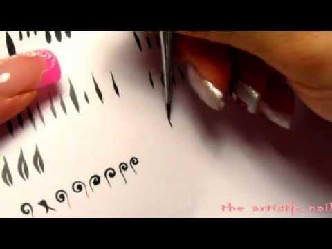 tutorial basi micropittura acrilica ricostruzione unghie