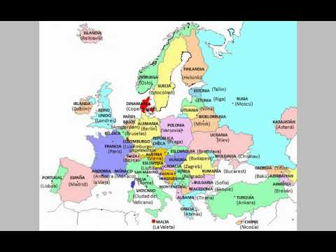 Map Of Europe (complete Fall)