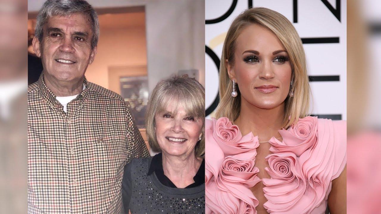 Carrie underwood parents