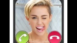 Prank calling Miley Cyrus