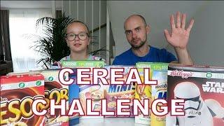 Вызов! Хлопья Челендж! Cereal Challenge!