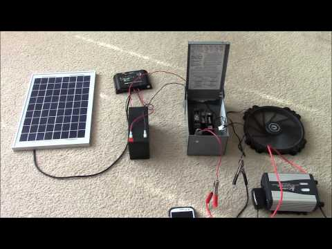 Solar Panel Systems for Beginners - Pt 2 Hybrid Systems & Multiple Loads