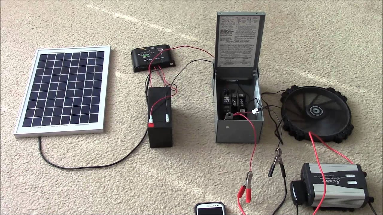 Solar Panel Systems For Beginners Pt 2 Hybrid Multiple Begginers Guide To Wiring Diagrams Loads