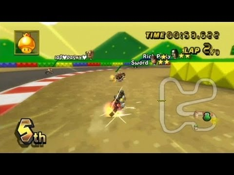 Mario Kart Wii - Race Royale [COMMENTATED]