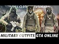 *NEW* TOP 3 BEST MILITARY OUTFITS | AFTER HOURS 1.44 | GTA Online | NOT MODDED | Tutorial