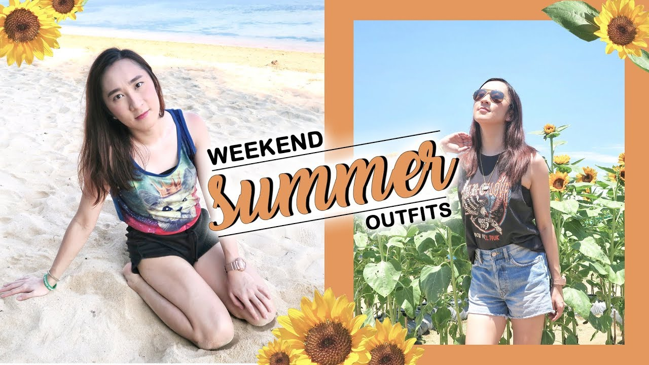 [VIDEO] - Easy Summer Outfits for the Weekend | Lookbook | Amber Tan 2
