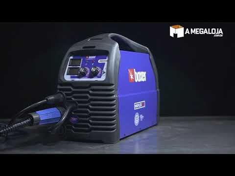 MIGFLEX 160 BV - A máquina de solda 3 em 1 mais versátil do Brasil Boxer Soldas - A Mega Loja