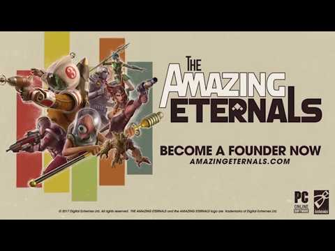 The Amazing Eternals is a hero shooter mixed with a card game