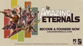 The Amazing Eternals iṡ a hero shooter mixed with a card game