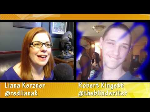 Party Chatter with @theblindwriter Robert Kingett