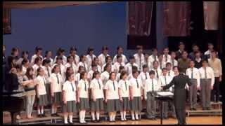 迦密唐賓南紀念中學30周年校慶綜藝表演晚會:合唱團表演 A