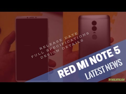 Redmi note 5   latest news