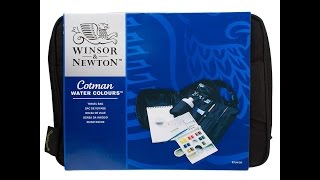 Cotman Travel Bag Unboxing (Watercolor supplies)