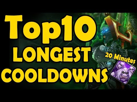 Top 10 Class Abilites With The Longest Cooldowns In WoWs History