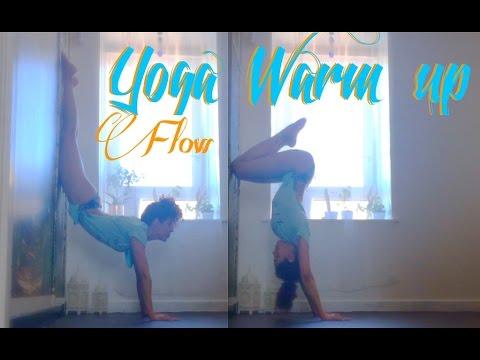 YOGA Warm Up Flow YouTube