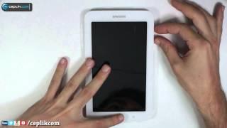 Samsung Galaxy Tab 3 Modellerine Nasıl Format Atılır?