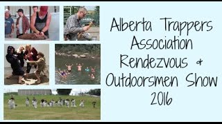Alberta Trappers Association Rendezvous & Outdoorsmen Show 2016 Pincher Creek