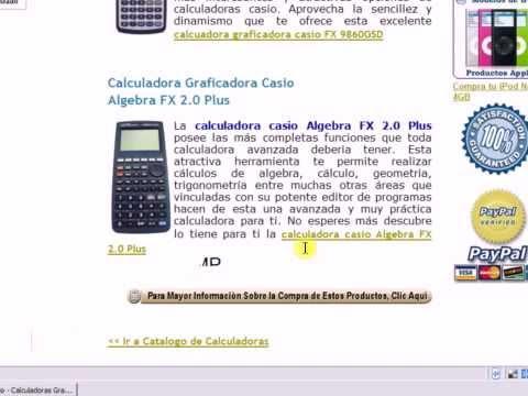 Calculadoras Casio - Las Nuevas Calculadoras Graficadoras
