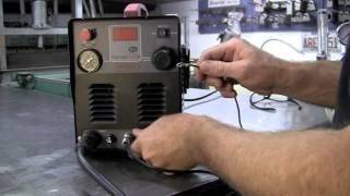 LONGEVITY ForceCut 40D Dual Voltage 110/220v 40 AMP Plasma Cutter Cut Aluminum/Steel Review