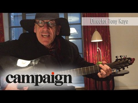 Tony Kaye's salvation: the director performs a song for Campaign