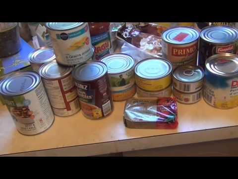 Prepping for Dummies  -  Food Storage
