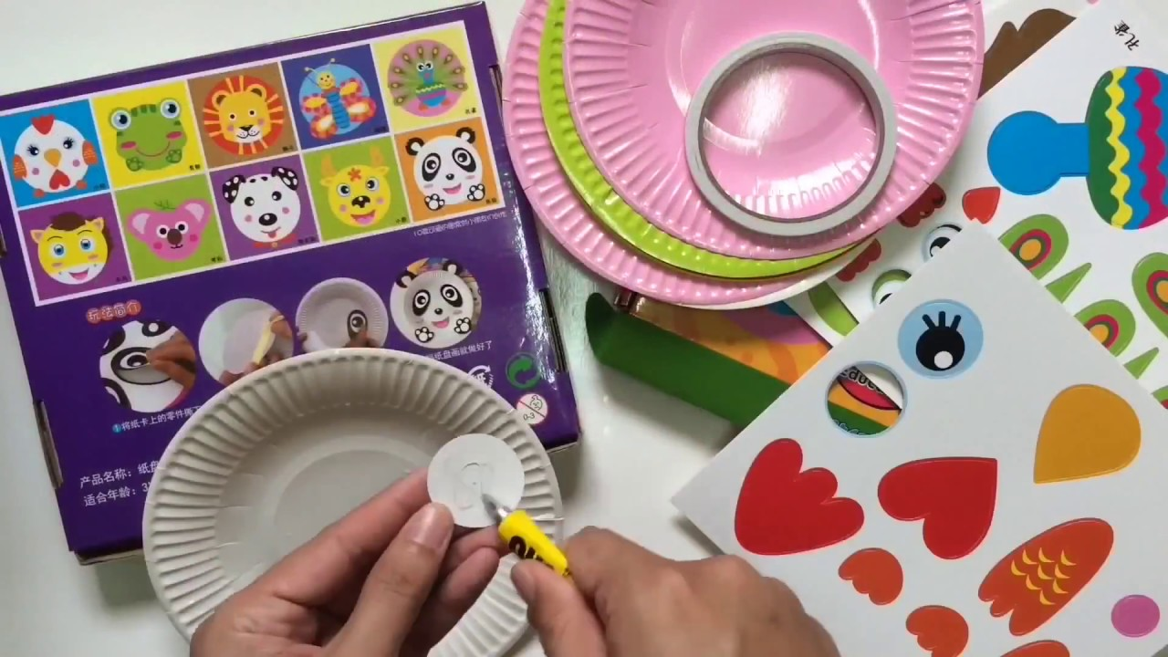 LEARN HOW TO DO ANIMAL FACE BY PAPER PLATE & LEARN HOW TO DO ANIMAL FACE BY PAPER PLATE - YouTube