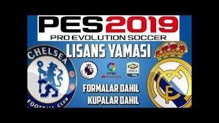 PES 2019 PS4 LİSANS YAMA KURULUM ve DOSYALAR / PC UYUMLU! (Pes 2019 Lisans Yaması Nasıl Yapılır?)