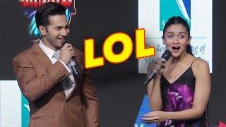 LOL VIDEO! Alia Bhatt Caught Varun Dhawan Lying