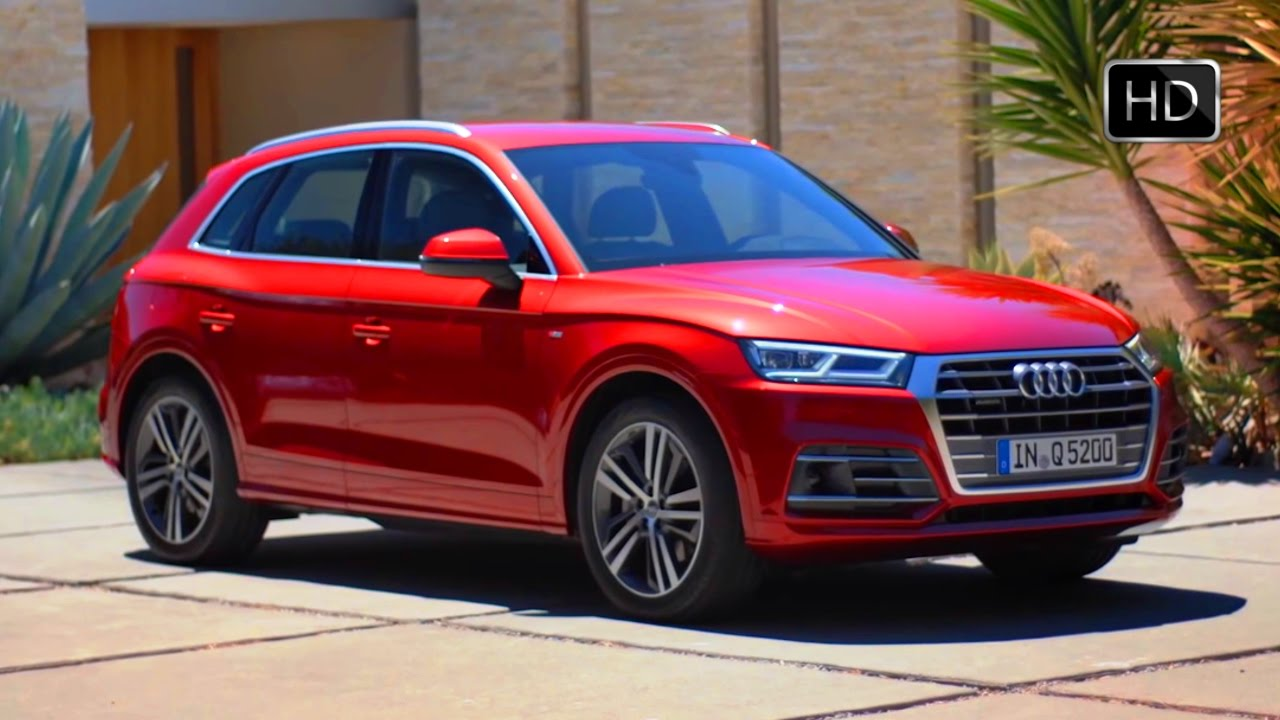 2017 audi q5 tfsi quattro red exterior interior design overview hd video youtube. Black Bedroom Furniture Sets. Home Design Ideas