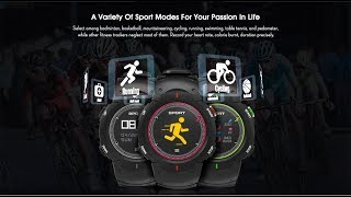 DT No.1 F13 Sports Smartwatch - best smartwatch for android & i phone
