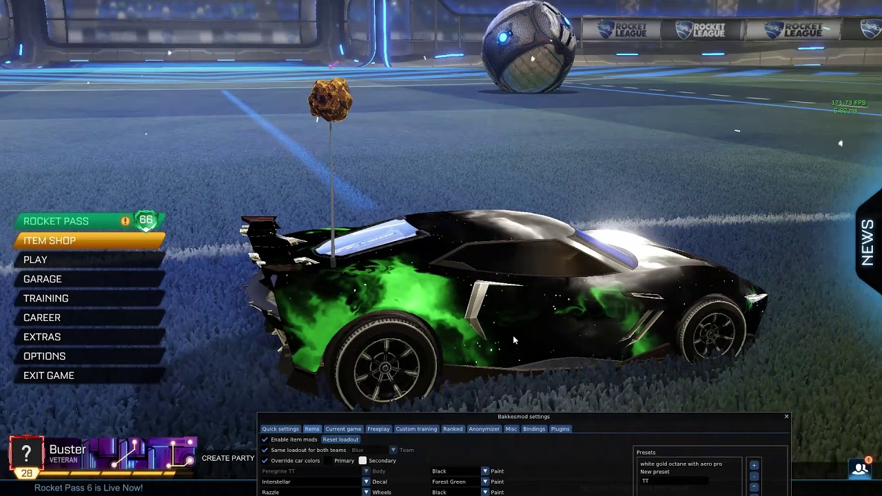 All The Colors Of Interstellar Black Market Decal For Rocket League Youtube
