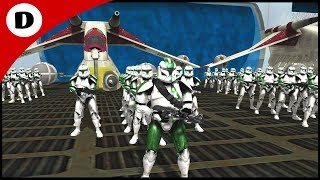 COMMANDER GREE BOARDS GRIEVOUS'S SHIP - Men of War: Star Wars Mod