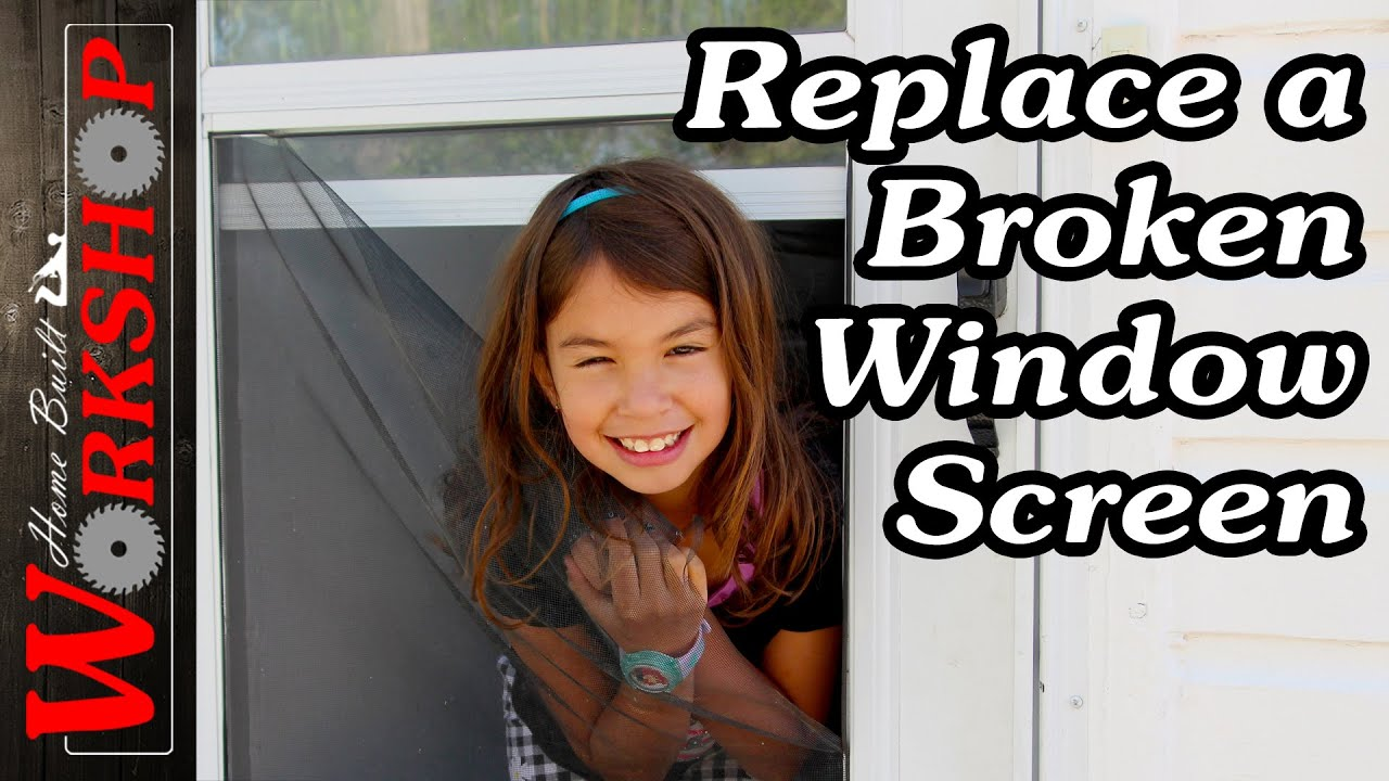 How to Replace a Window Screen | How to choose the correct size window spline