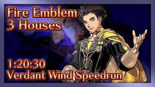 Fire Emblem: Three Houses - Verdant Wind Speedrun - 1:20:30