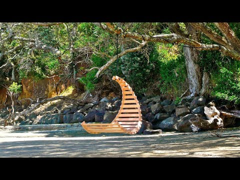 Wooden Hanging Chair Swing