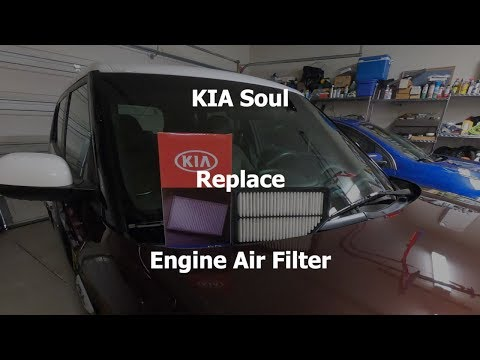 Kia Soul – Replace Engine Air Filter