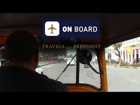 On Board with Kal Penn: Travels with President Obama in India