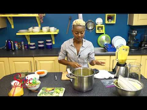 How to Corn Soup Trinidad and Tobago
