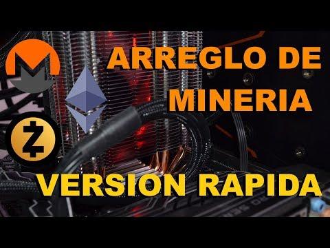 Mining RiG 4 GTX 1050 TI - Arreglo De Minado (Fast Version)